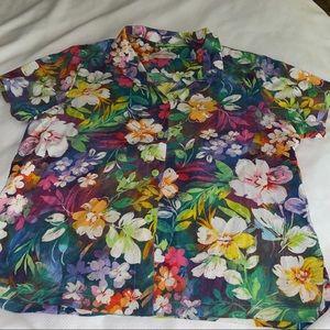 Jams World floral blouse XL